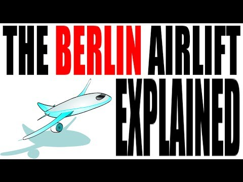 The Berlin Airlift Explained in 5 Minutes: US History Review