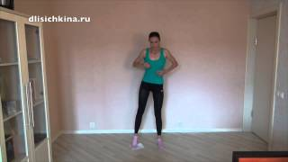 Эффективные упражнения для внутренних мышц бёдер(5 эффективных упражнений от Дарьи Лисичкиной для приводящих мышц бёдер. Курс 2 недели., 2015-08-10T14:27:41.000Z)
