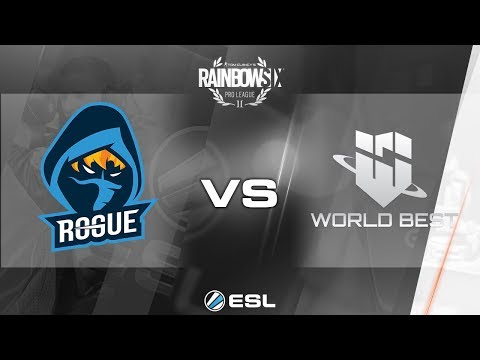 Rainbow Six Pro League - Season 3 - NA - World Best Gaming vs. Rogue - Week 2