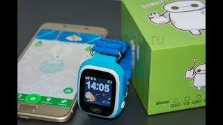 smart Baby Watch Q90 (Q80/GW100/G72). Видео обзор