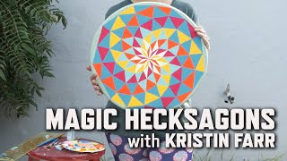 painting magic hecksagons with kristin farr   kqed arts