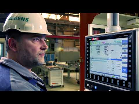 SINUMERIK in the Power Manufacturing Industry