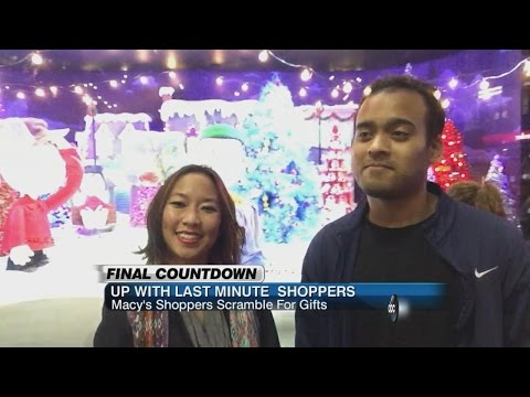 On Christmas Eve, Last-Minute Shoppers Hit the Stores | ABC News