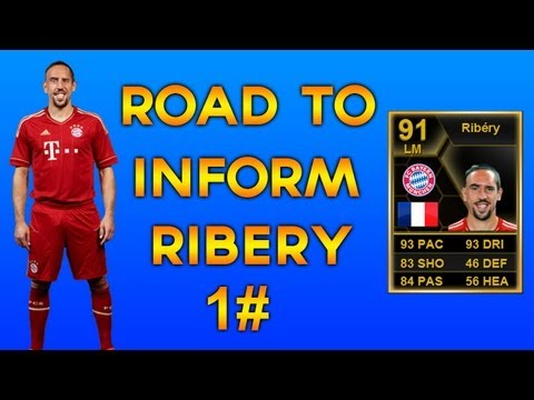 Fifa 13 | UT | Road To IF Ribery | Nice Profit To Start! | #1