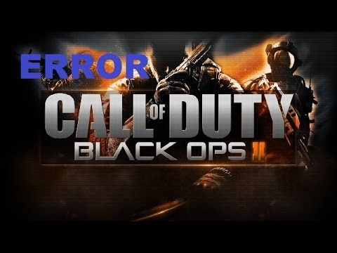 Call Of Duty Black ops 2 solucion (error during initialization unhandled exception caught)