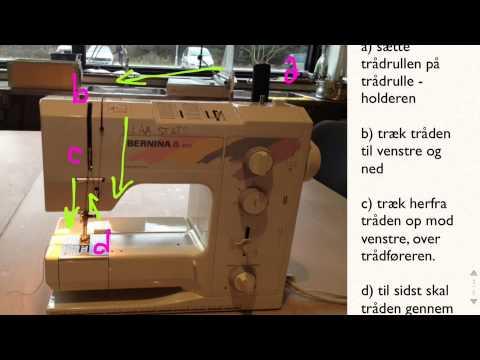 tråde symaskine