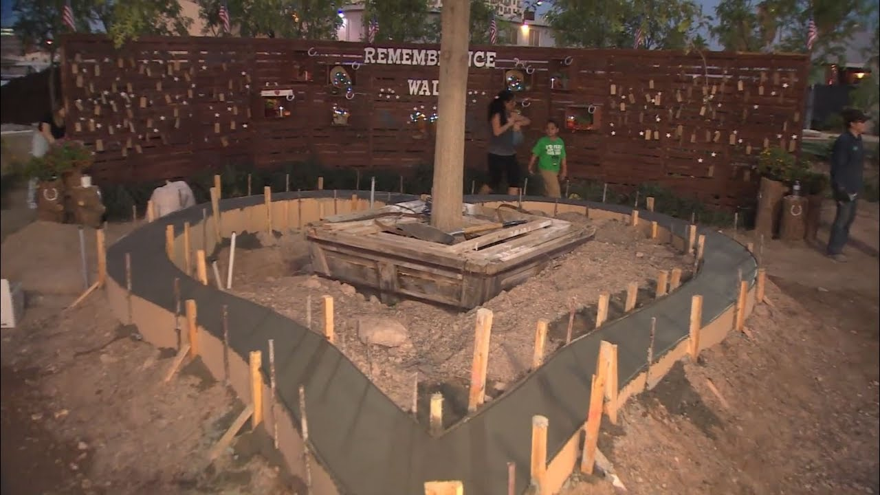 Vegas Community Plants Healing Garden In Memory Of Victims Of