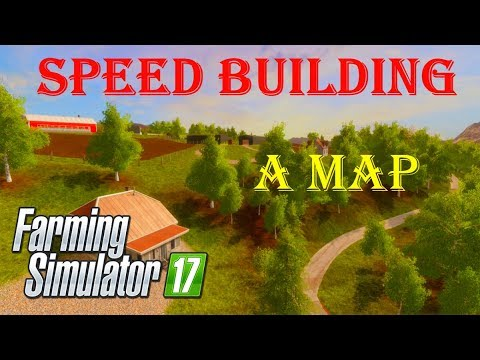 Farming Simulator 17 | Speed Mapping | Ep. 2 | Rosendal: Norwegian real area based map