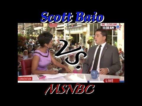 Scott Baio destroyed by MSNBC host
