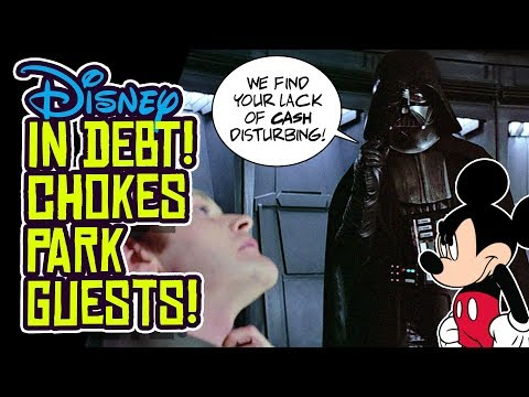 Disney in DEBT?! Shakes Down Disney Theme Parks for MORE MONEY!