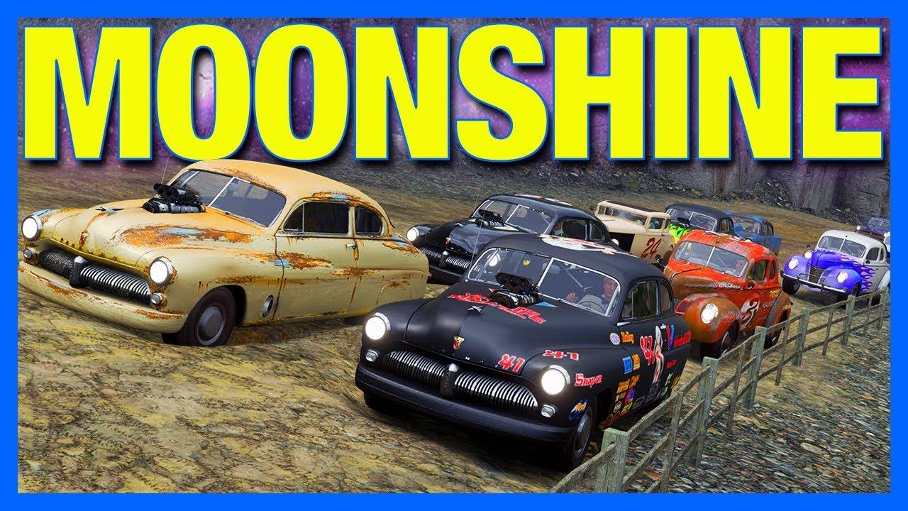Forza Horizon 4 Online : Moonshine Runners!! (FH4 Nascar ...