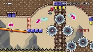 [20] Sec. Speedrun (Close) by YogurtMii - Super Mario Maker 2 - No Commentary