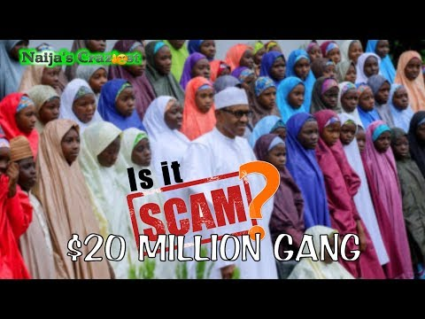 Buhari Stages Dapchi Girls Abduction & Release To Raise $20M Re-Election Fund From Ransom