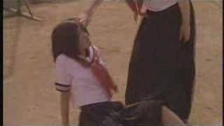 Schoolgirl beat down