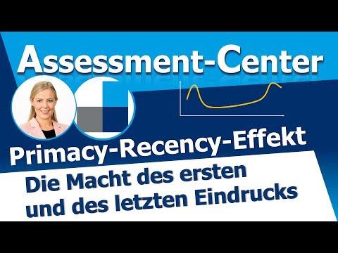 Assessment Center: Primacy-Recency-Effekt - Die Macht des ersten und letzten Eindrucks!из YouTube · Длительность: 5 мин3 с
