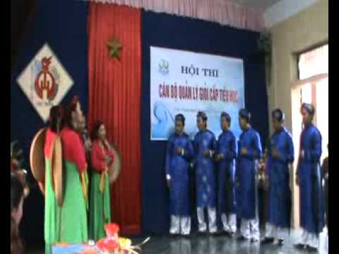 Màn chào hỏi miền 4- Hội thi CBQL giỏi Trực Ninh