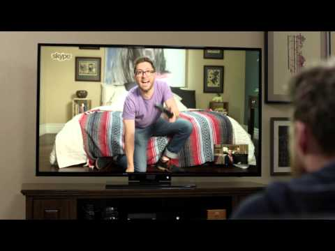 Skype on Xbox One: HD video