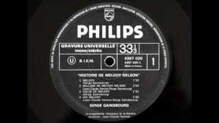 Serge Gainsbourg - Melody Nelson side A (vinyl rip)