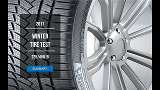 2017 Winter Tire Test Results | 225/45 R18