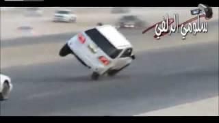 crazy motorway drivers saudi arabia