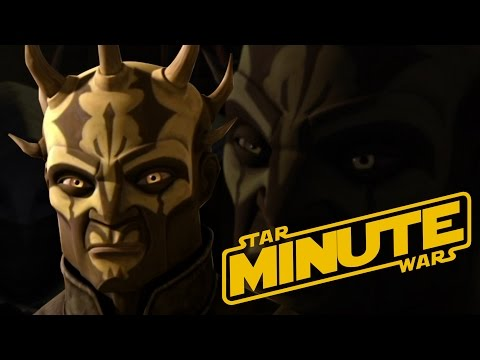 Savage Opress (Canon) - Star Wars Minute