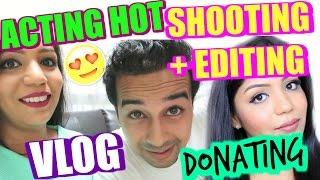 donating shooting editing acting hot chef in box singapore vlog   superprincessjo