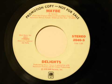 Delights - Maybe - Soulful Remake of The Chantels Classic
