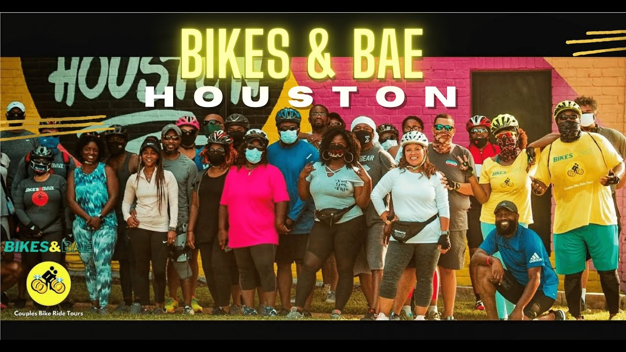 Thank You Houston Couples for a BEAUTIFUL Bikes & Bae Ride!