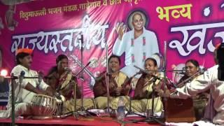 59 Marathi Gaulan Yamunechya Tiri by Warud Mahila Mandal at Gadegaon Bhajan  Spardha