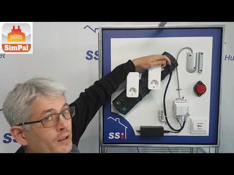 Ny Parring af Simpal T40 til en T20 GSM stikkontakt - YouTube RD87