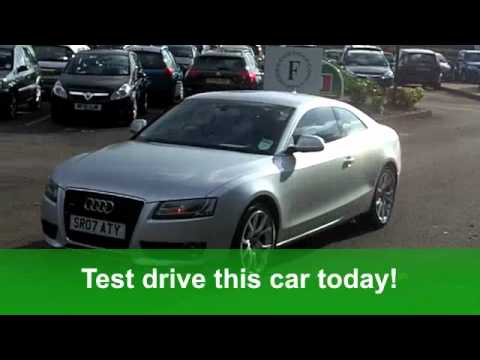 USED AUDI A5 DIESEL COUPE 2007 30 TDI QUATTRO SPORT 2DR