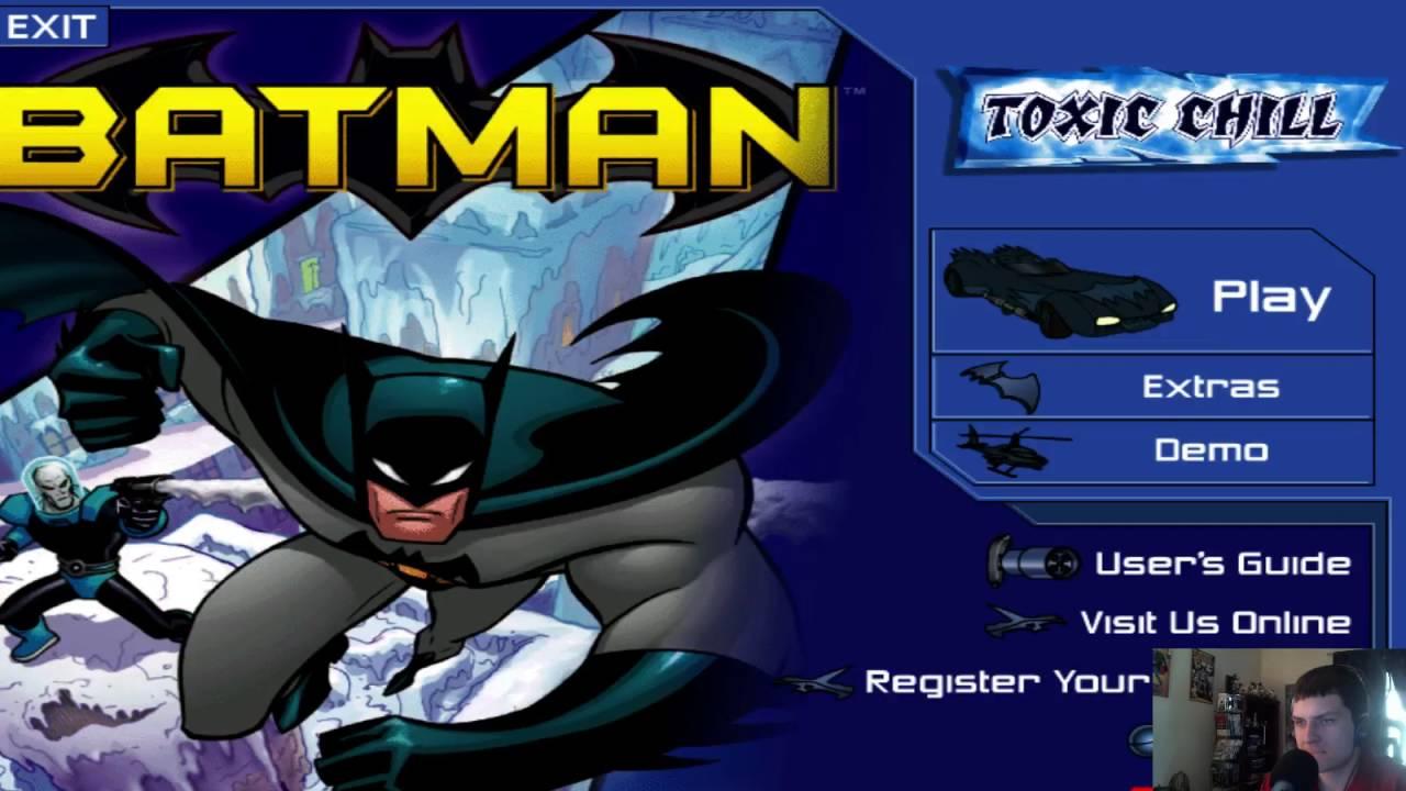Amazon. Com: batman toxic chill pc/mac: video games.