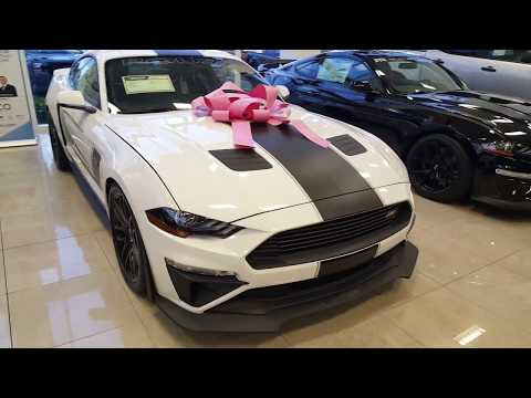 2019 Roush Stage 3 Ford Mustang vs 2019 Shelby GT350R, 2019 RTR, and 2019 Bullitt