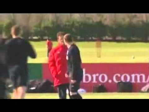 England Football Team Training Session!