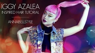 GET THE LOOK | IGGY AZALEA PONYTAIL collab. with Sally Jo