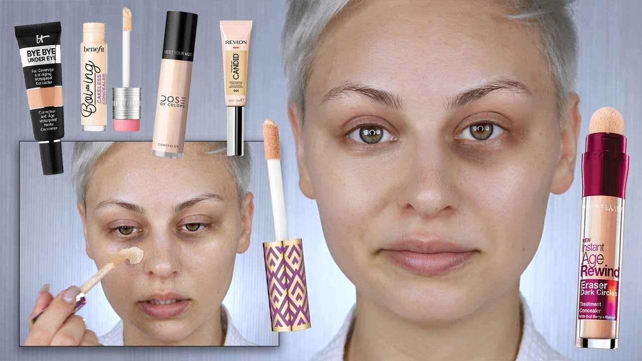 The Best Concealers For Dark Circles Youtube