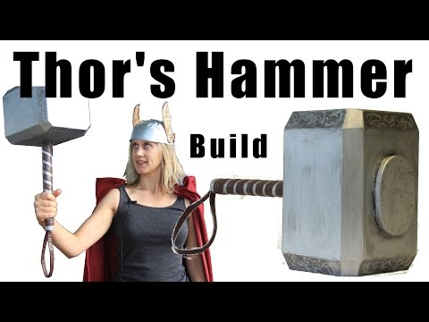 Building Thors Hammer for a Halloween Costume