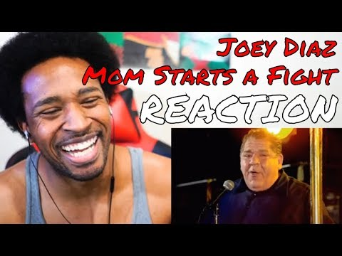 Joey Diaz - Mom Starts a Fight REACTION | DaVinci REACTS