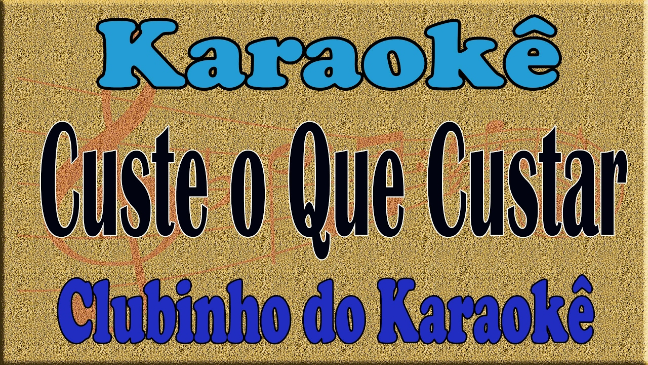 Roberto Carlos - Custe o Que Custar ( ) - YouTube