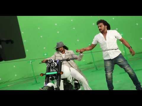 sudeep upendra stunt scene in mukunda...