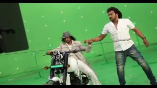 sudeep upendra stunt scene in mukunda murari