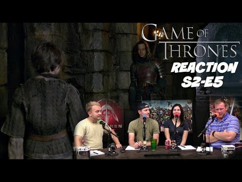 """Game of Thrones Season 2 Episode 5 REACTION! """"The Ghost of Harrenhal"""""""