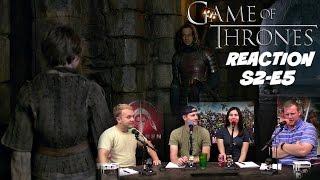 Game of Thrones Season 2 Episode 5 REACTION!
