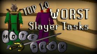 Top 10 Worst Slayer Tasks In RuneScape