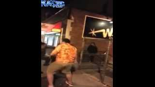 Street fight and bouncers