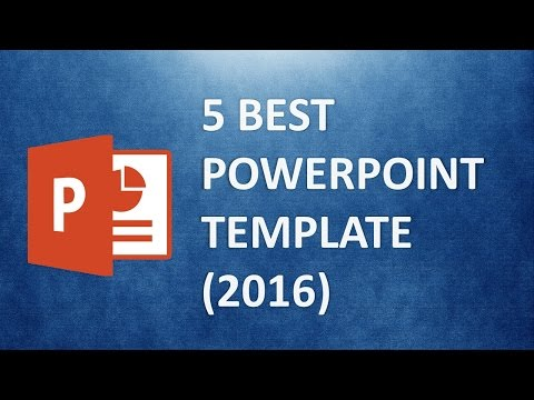 Best powerpoint templates the 5 best presentation template for Great looking powerpoint templates
