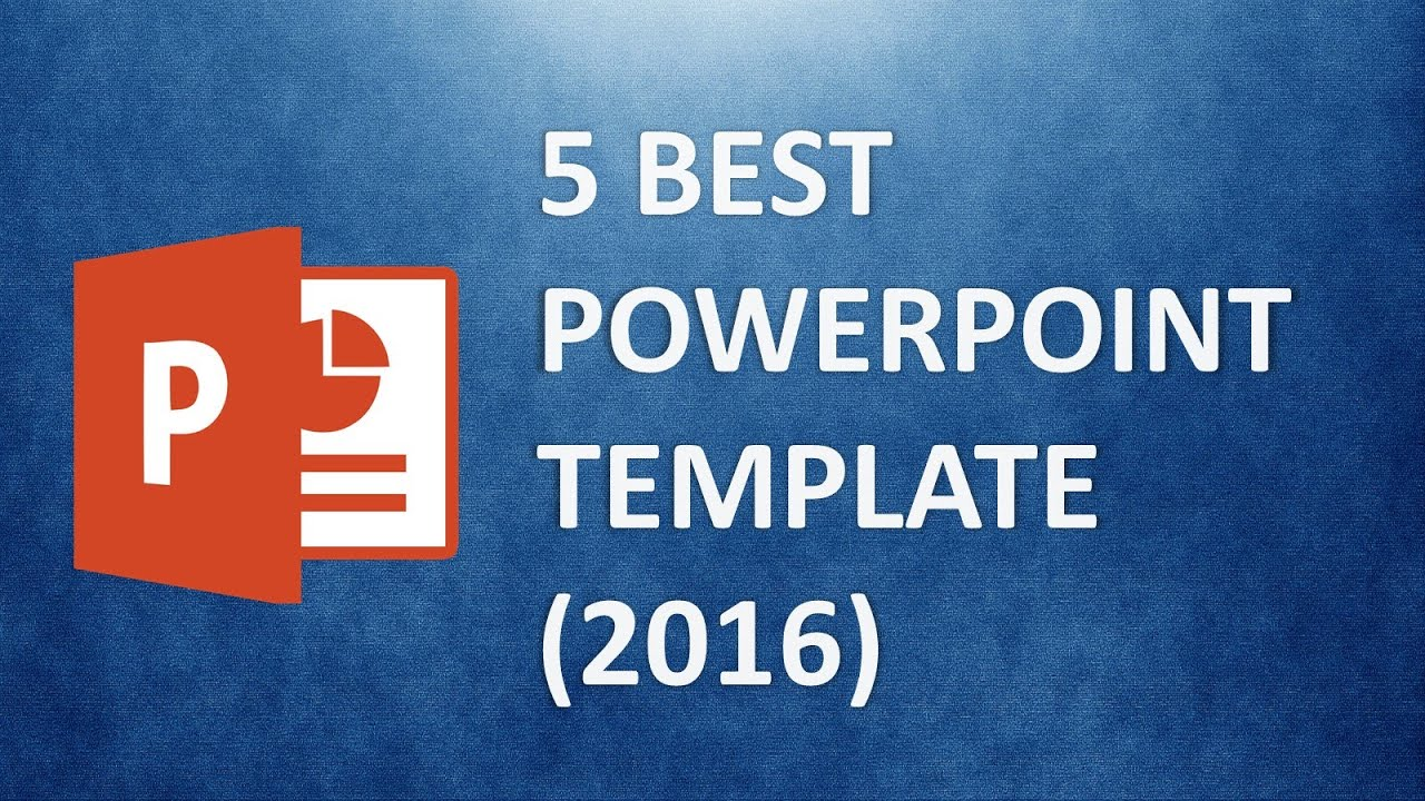 best powerpoint templates - the 5 best presentation template (2016, Presentation templates