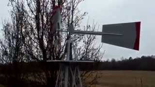 Decorative windmill for the yard. Mr Tims reviews this 8 ft windmill bought at Northern Tool.