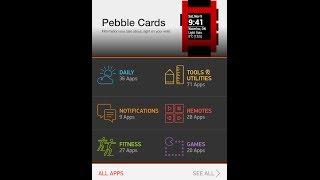 Pebble Smartwatch Appstore Walkthrough on iPhone App ( SDK 2.0 Beta 6 )