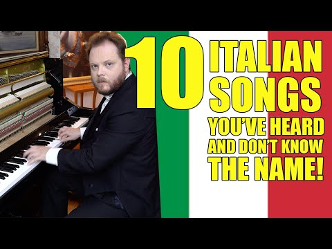 10 Italian Songs You've Heard And Don't Know The Name